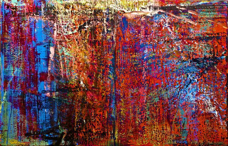 'Abstraktes Bild (Nº 635)' Gerhard Richter | © Pedro Ribeiro Simões/Flickr