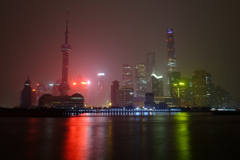 Shanghai Skyscapers | ©Andrew Stawarz / Flickr