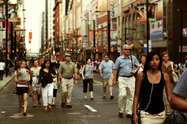 Yonge St in Downtown Toronto   © Stefan Ogrisek / Flickr