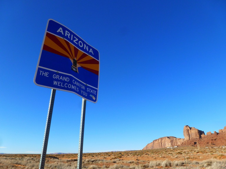 Welcome to Arizona | ©Phil Whitehouse/Flickr