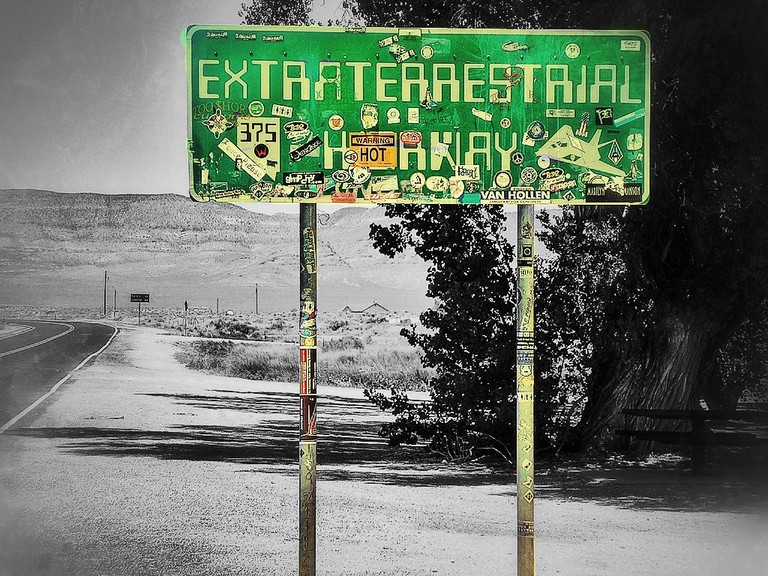 Extraterrestrial Highway | © Volker Nitschke / Flickr