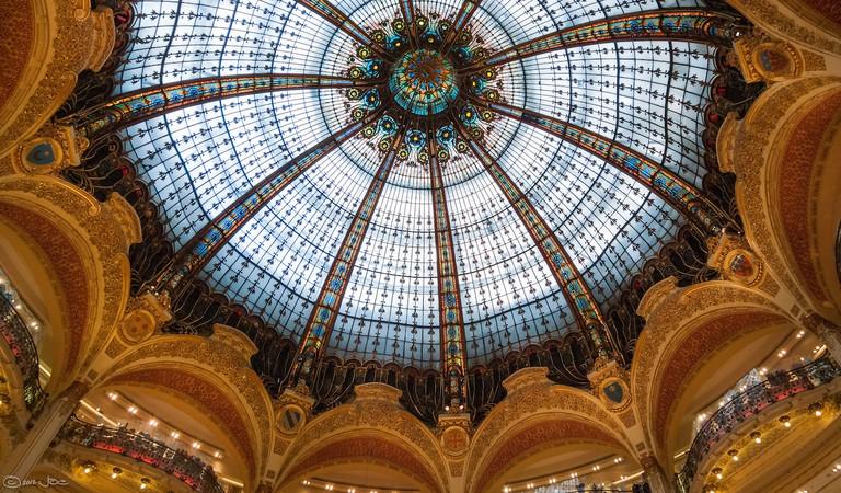 Cupola of the Galeries Lafayette | © Joe deSousa/Flickr