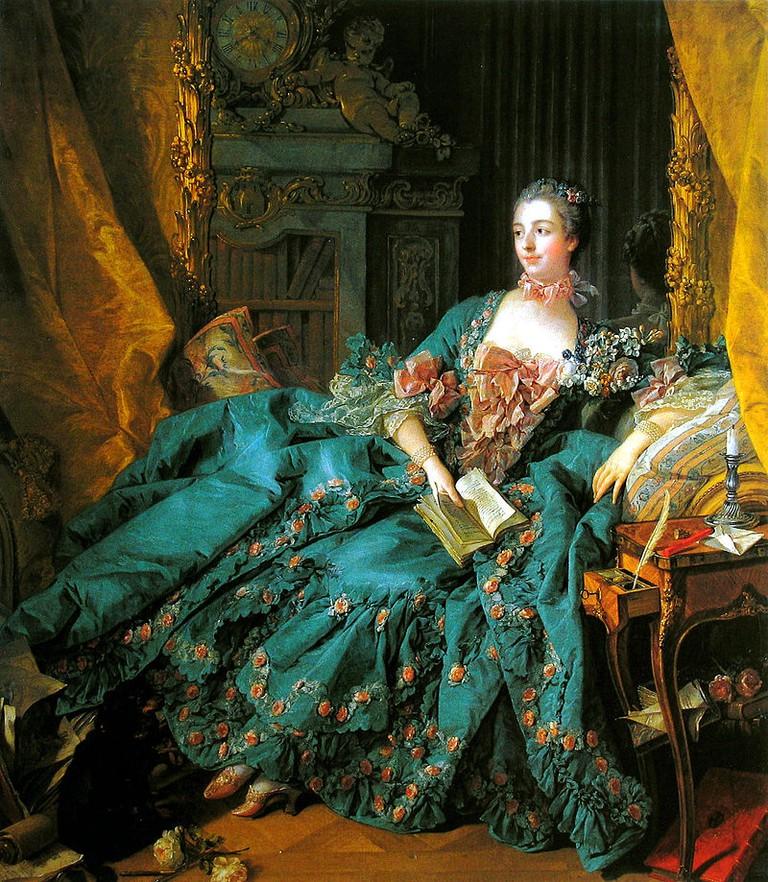 Madame de Pompadour © Alte Pinakothek / WikiCommons