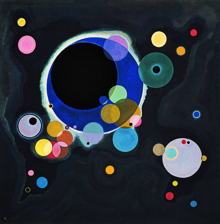 Several Circles | Wassily Kandinsky/WikimediaCommons
