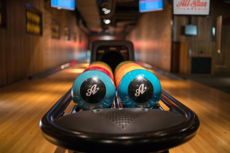 Boozy Bowling | Courtesy of All Star Lanes