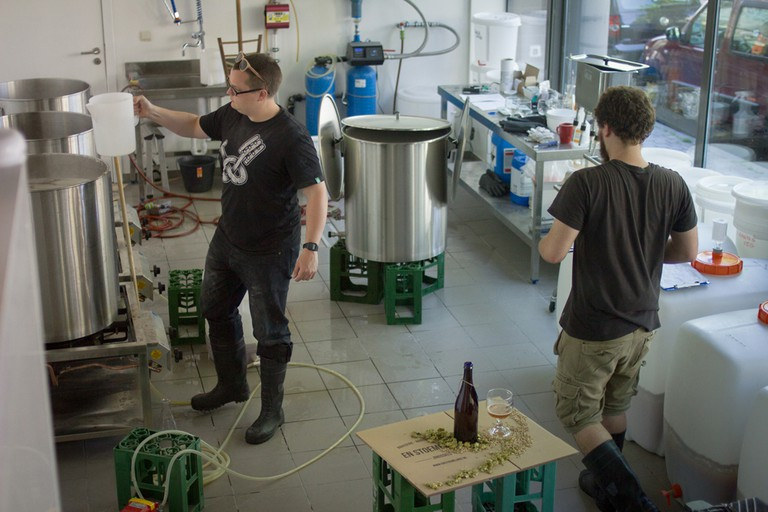 The Brewing Process   © En Stoemelings