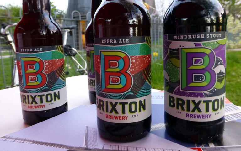 Brixton Brewery Beer | Courtesy of FOWG