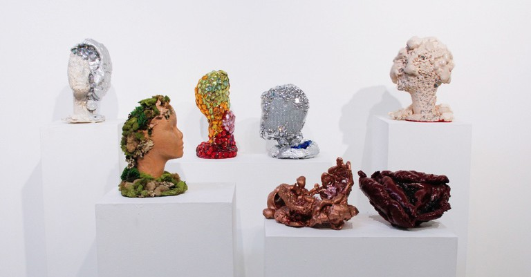 Sarah Allen Eagen, sculptures (installation view) | © Sarah Allen Eagen