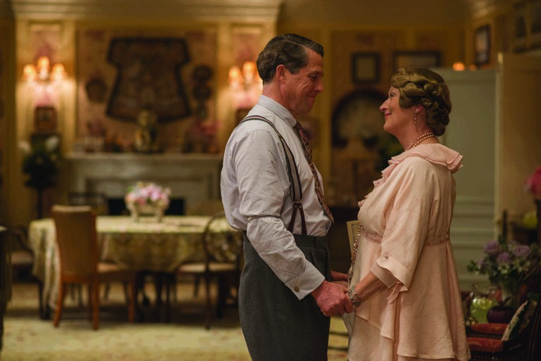 Hugh Grant and Meryl Streep, full of loving sentiments as St.Clair and Florence