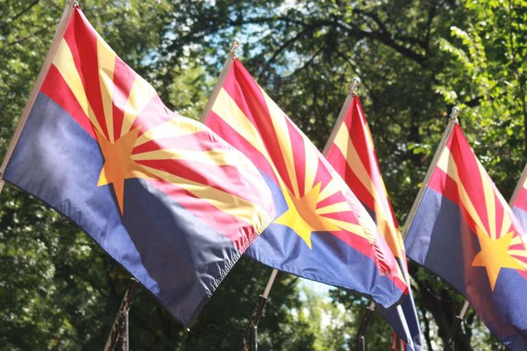 Arizona State Flag | © NiksWebDesignAz/Pixabay
