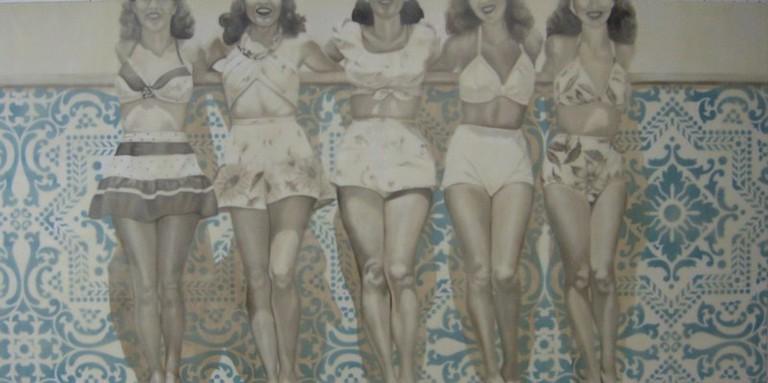 Five Pretty Ladies by Jhina Alvarado   Courtesy of Jhina Alvarado