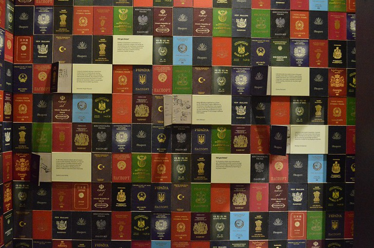Different Passports displayed © Lim Sue Roe