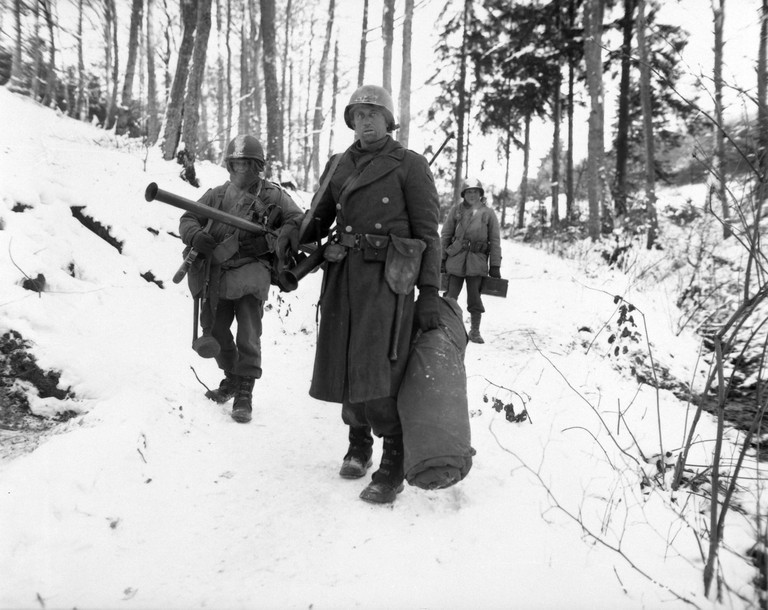 The U.S. Army - Battle of the Bulge | WikiComons