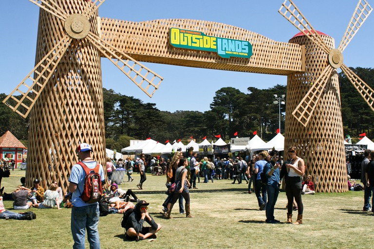 Outerlands Festival at Golden Gate Park © Alejandro De La Cruz/Flickr