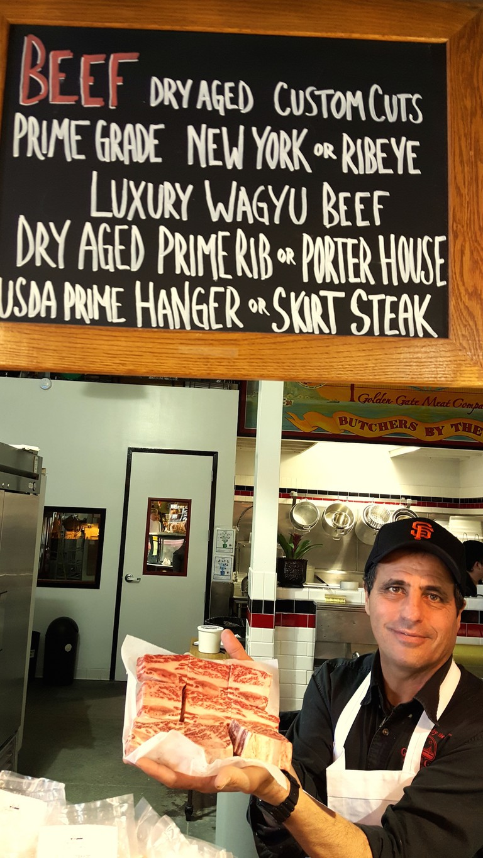Short ribs at Golden Gate Meats