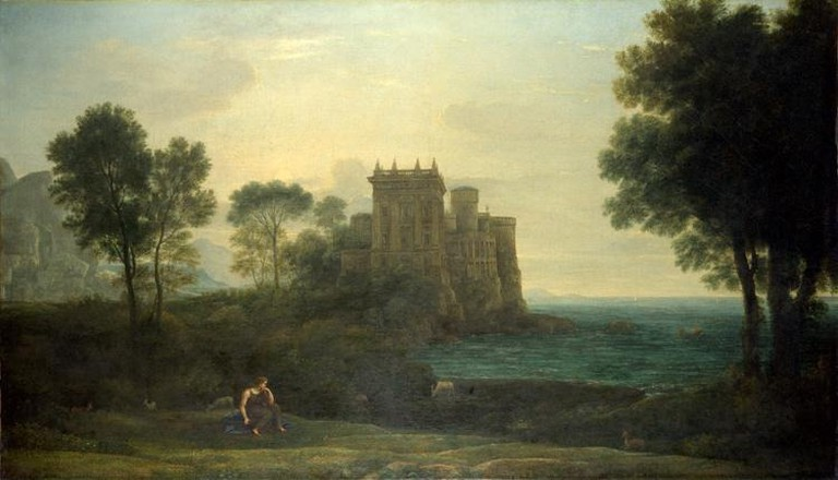 Claude Lorrain, The Enchanted Castle, 1664 | © Claude Lorrain/WikiCommons
