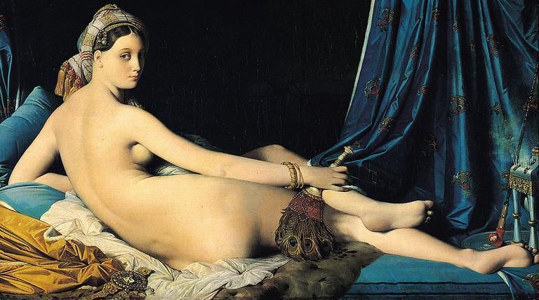 Ingres, The Grande Odalisque, 1814   © Musée du Louvre/WikiCommons