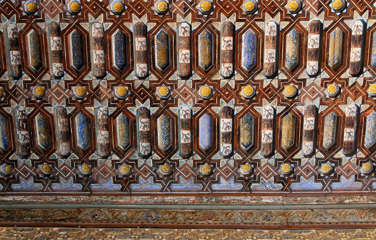 Detail from the Alcázar in Seville | © Wolfgang Manousek / Flickr