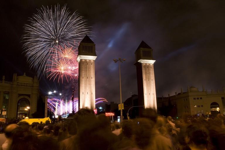 La Mercè closing ceremony | © Feradz / WikiCommons