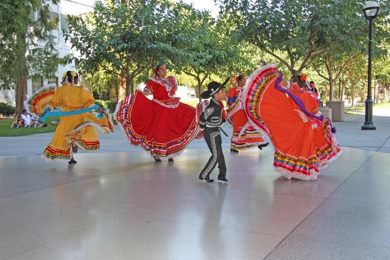 Folklorico Dancers | © San José Library/Flickr