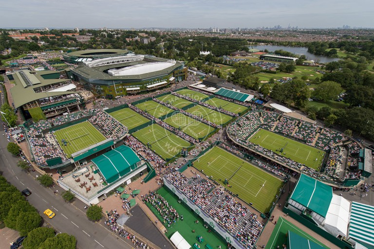 Wimbledon   © Bob Martin