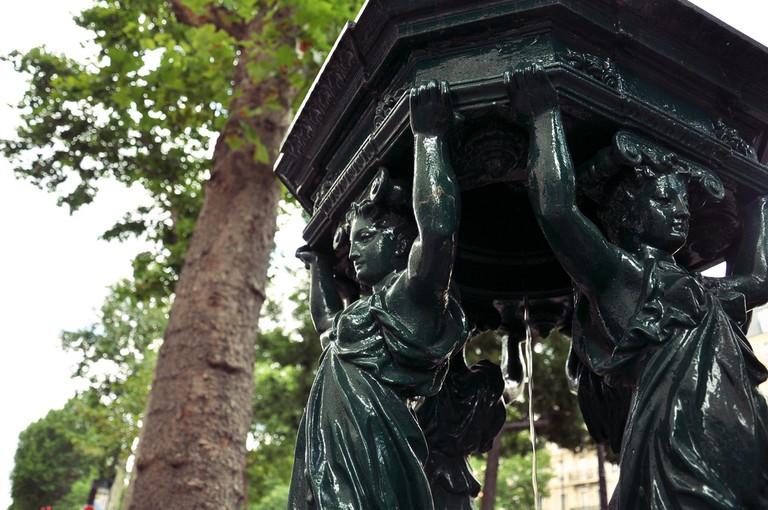 Wallace Fountain near Canal Saint Martin | © Céline/Flickr