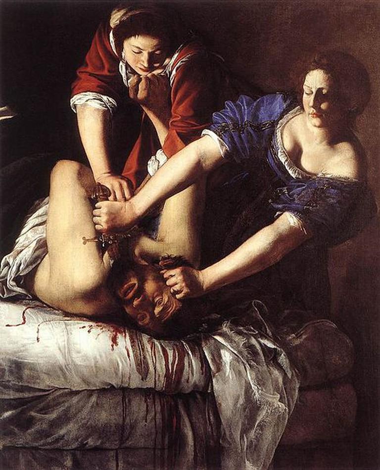 Artemisia Gentileschi, Judith Beheading Holofernes | © National Museum of Capodimonte