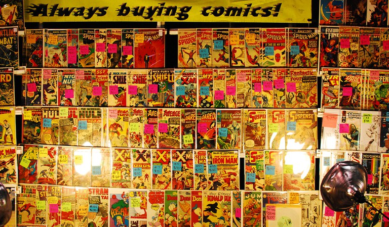 Comic Book | © Jason Persse/Flickr