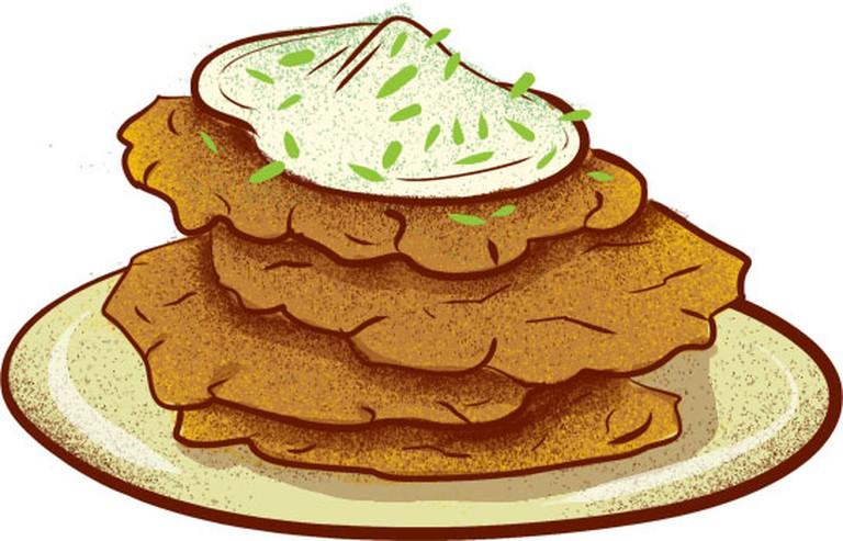 Czech potato pancakes | © Eating Prague Tours
