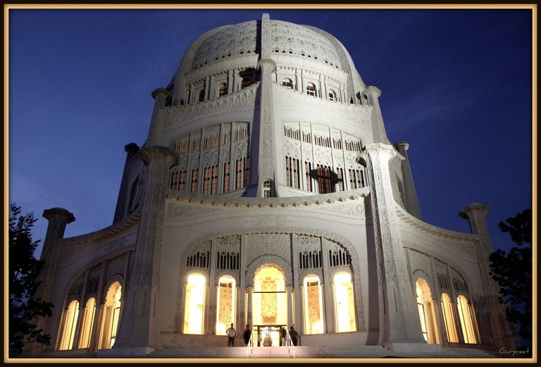 Temple at night | © GPS/Flickr