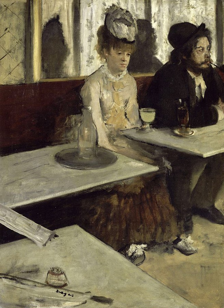 """Absinthe Drinker"" by Edgar Degas | ©Public Domain/WikiCommons"