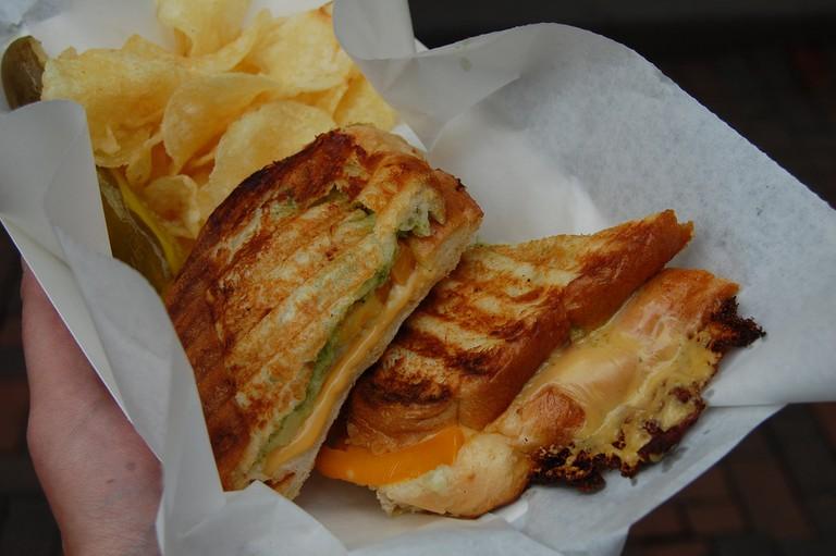 Grilled Cheese | © stu_spivack/Flickr