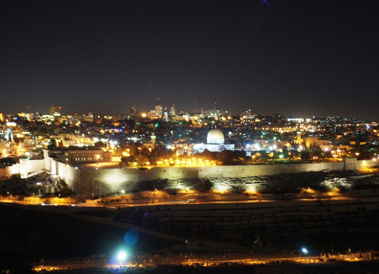 Jerusalem by night © Michael Panse