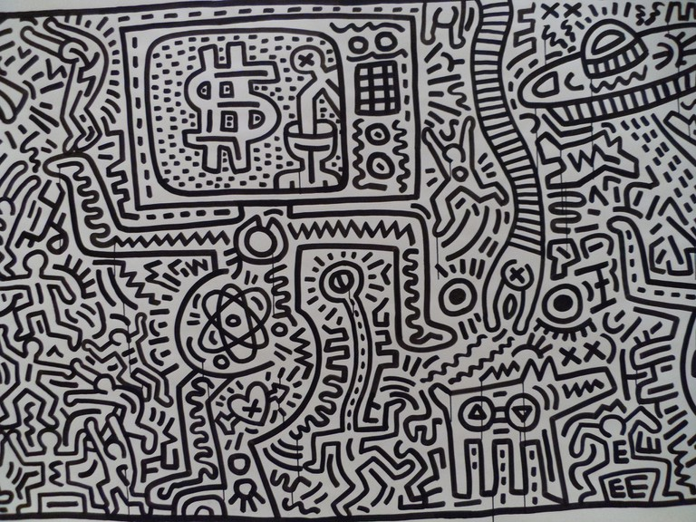 Keith Haring at Brooklyn Museum | © Luca Conti/Flickr