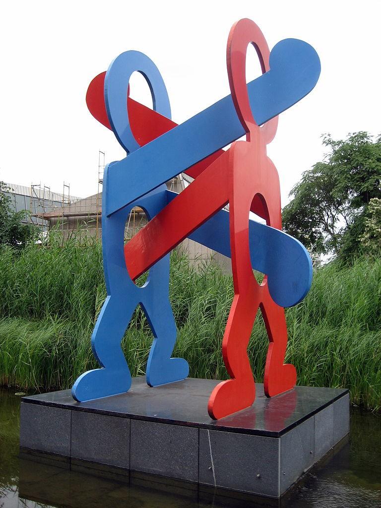 Keith Haring Berlin-Tiergarten | © neeel/WikiCommons