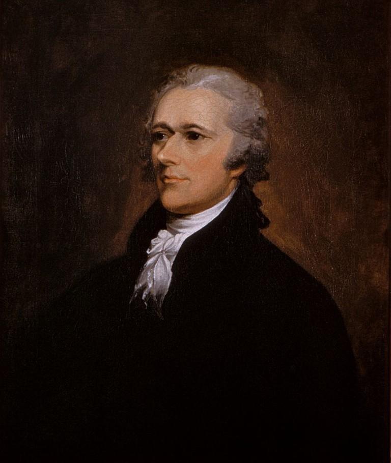 Alexander Hamilton portrait by John Trumbull 1806 | © John Trumbull/WikiCommons
