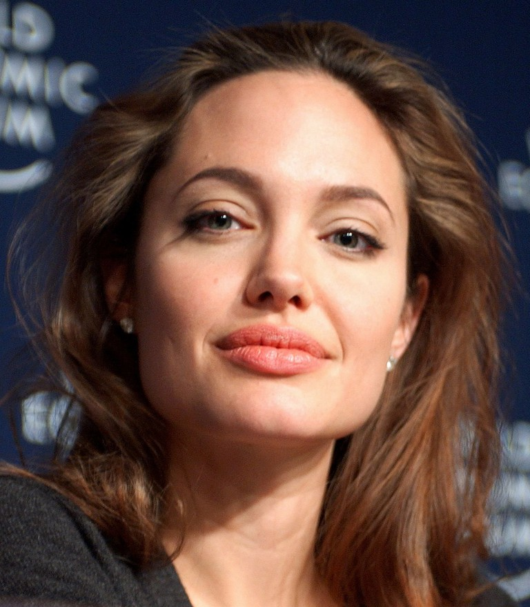 Angelina Jolie in 2005 © Remy Steinegger/WikiCommons