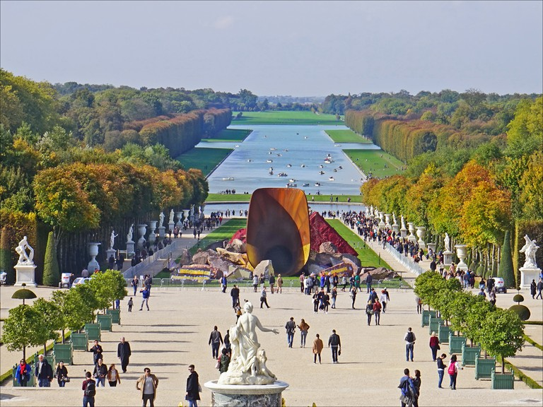 Anish Kapoor, Dirty Corner, Palace of Versailles | © Jean-Pierre Dalbéra/Flickr