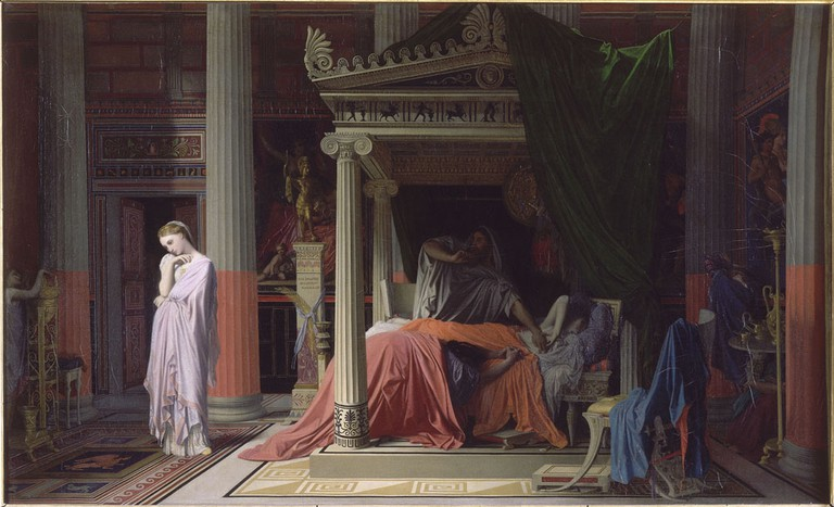 Ingres, Antiochius and Stratonice, 1840   © Musée Condé/WikiCommons