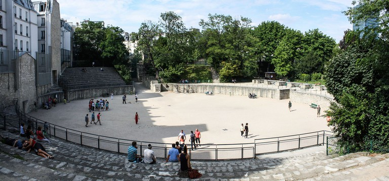 Arènes de Lutèce │© Shadowgate / Wikimedia Commons