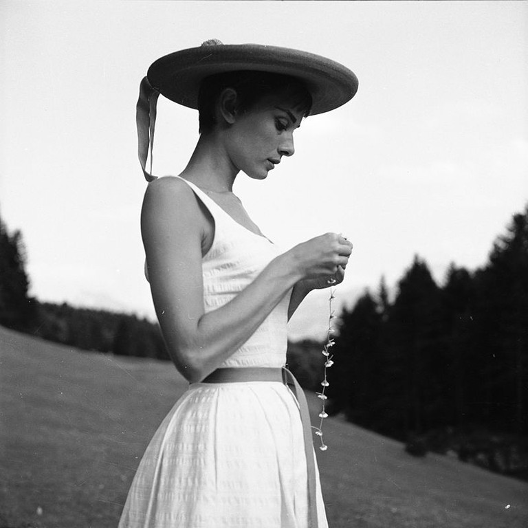 Audrey Hepburn, Bürgenstock, Switzerland | WikiCommons