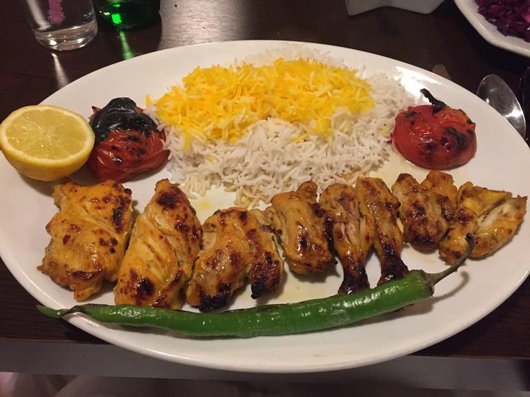 Chicken Jujeh Kebab at Azerbaijan | Courtesy Shambhavi Pai