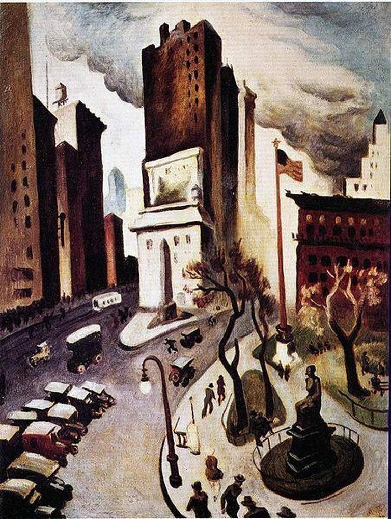 New York, Early Twenties   ©Thomas Hart Benton / WikiCommons