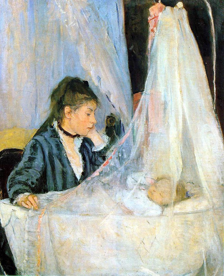 """""""The Cradle"""" by Berthe Morisot 