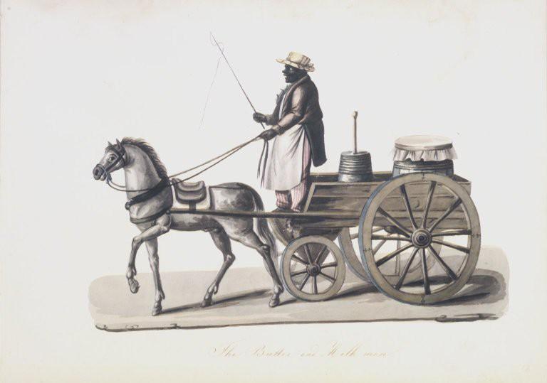 Brooklyn Museum - The Butter and Milk Man - Nicolino V. Calyo - overall | © Nicolino V. Calyo (1799–1884)/WikiCommons