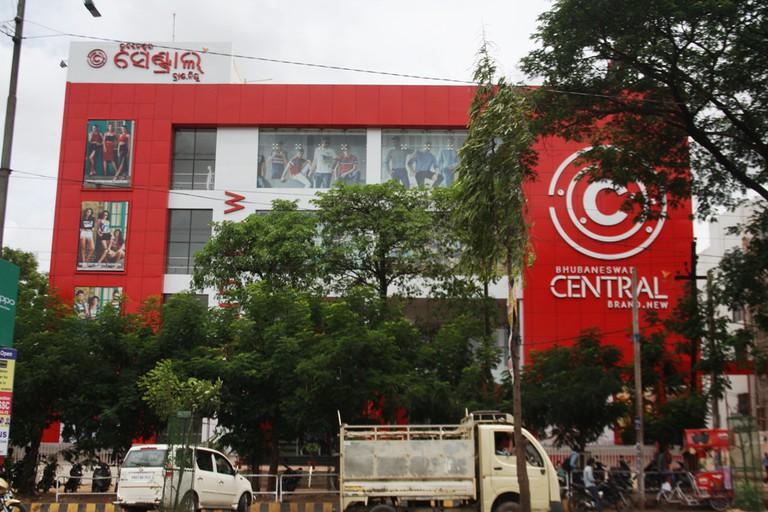 Malls are springing up across the city ( Photo: Rakesh Mohanty)
