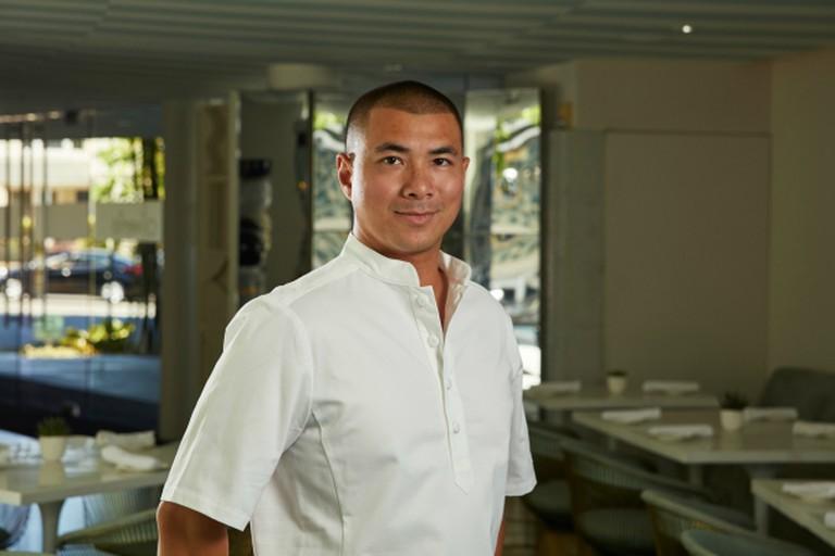 Chef Michael Hung (credit: Viviane Restaurant)