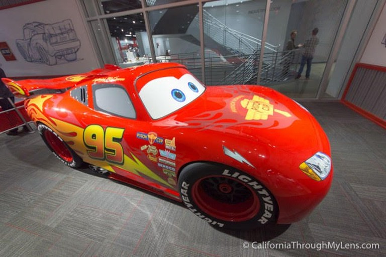 COOPER_PHOTO 3_A Cathedral For CA's Car-Obsessed Culture At The Petersen Museum (The Pixar Animation Studio Exhibition)