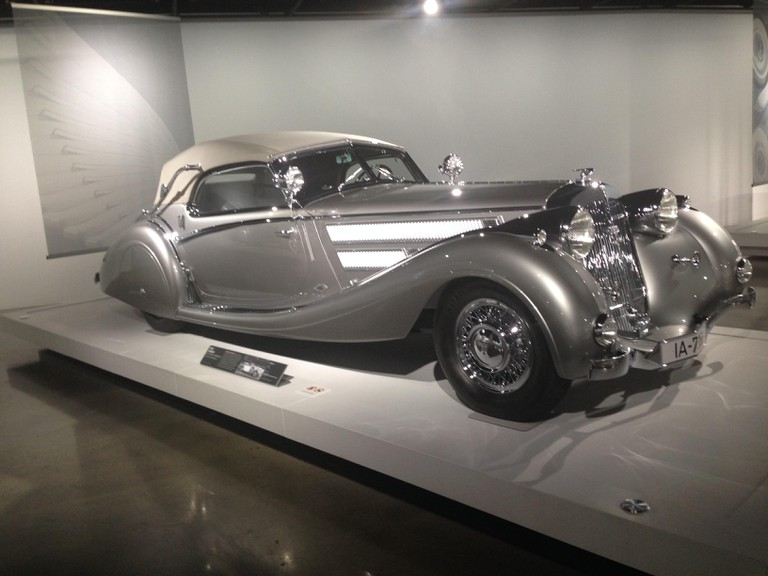 COOPER_PHOTO 4_A Cathedral For CA's Car-Obsessed Culture At The Petersen Museum (1937 Horch 853 Sport Cabriolet)
