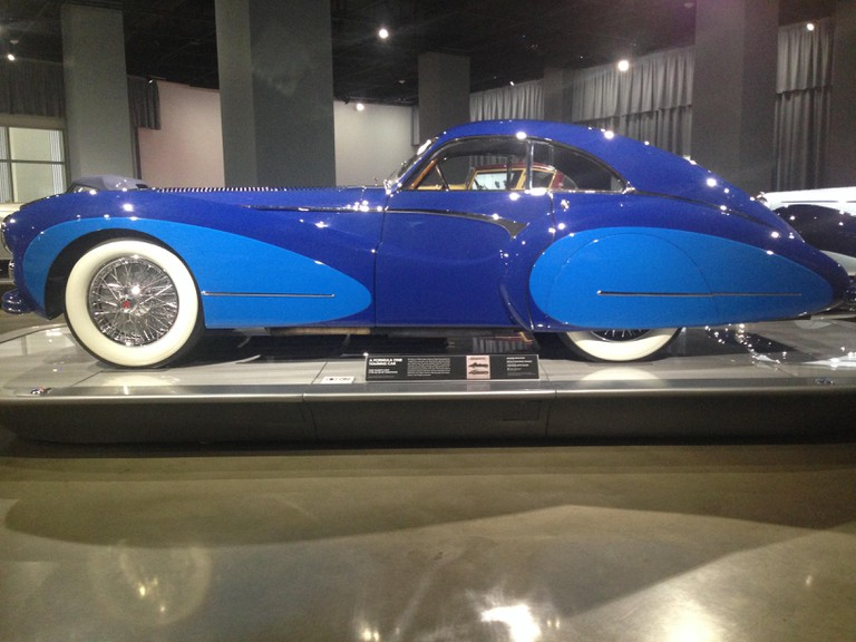 COOPER_PHOTO 5_A Cathedral For CA's Car-Obsessed Culture At The Petersen Museum (Saoutchik-designed 1948 Talbot-Lago Type 26-GS)